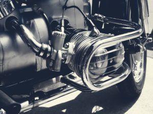 BMW Motorrad mit Boxer-Motor